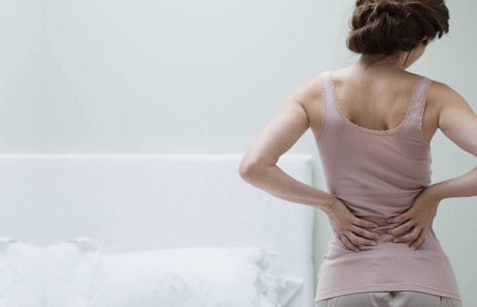 Упражнение против остеохондроза